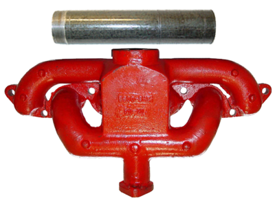 MANIFOLD W/ EXHAUST PIPE