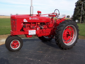 1954 farmall smta collector tractor